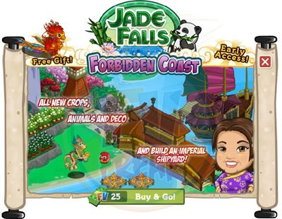 FarmVille Jade Falls Forbidden Coast
