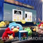 Play Angry Birds by flailing your arms with Samsung Smart TVs