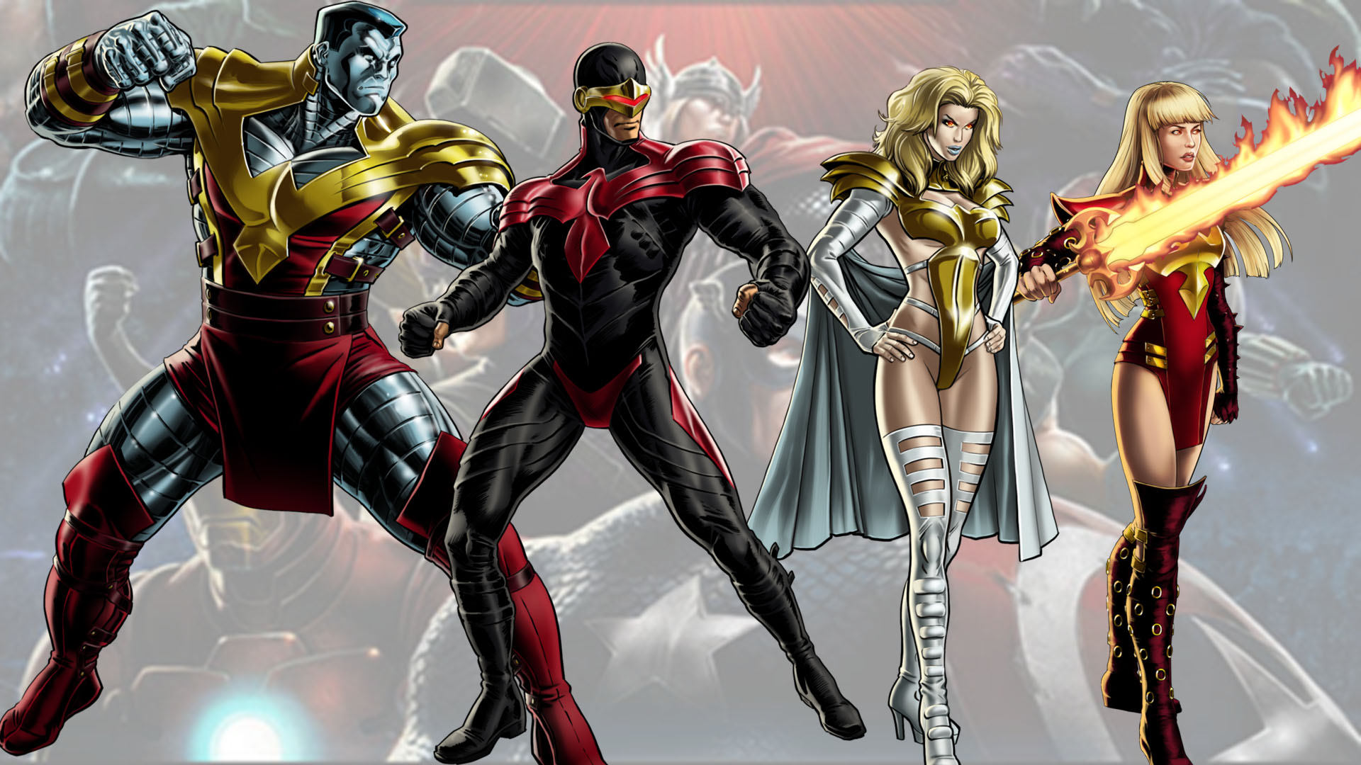 Marvel Avengers Alliance Phoenix Five