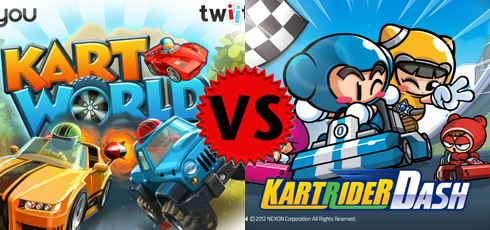 KartRider Dash vs KartWorld
