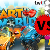 Facebook Game Face-off: KartRider Dash vs KartWorld