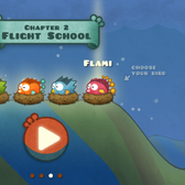 Tiny Wings 2 launches as a free update with Flight School
