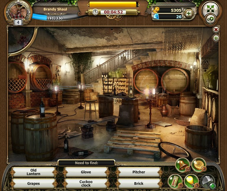 room of memory game