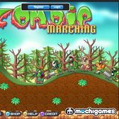 Game of the Day: Marching Zombies
