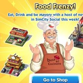 SimCity Social: Celebrate a love of cuisine with Food Frenzy items