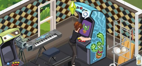 The Sims Social screens
