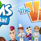 Facebook Game Face-off: The Sims Social vs The Ville