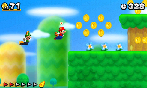 New Super Mario Bros. 2 screen shots