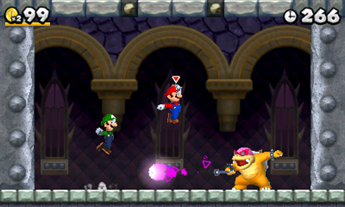 New Super Mario Bros 2 screens