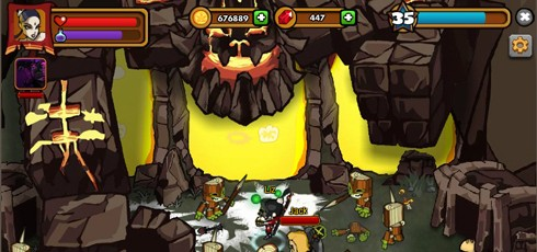 Dungeon Rampage screen shots