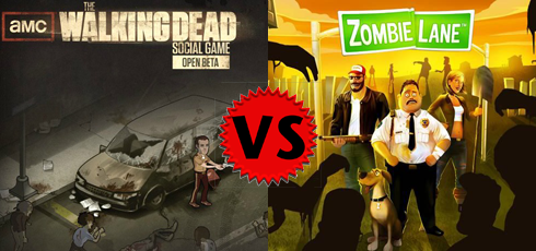 The Walking Dead vs Zombie Lane