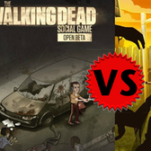 Facebook Game Face-off: The Walking Dead vs. Zombie Lane