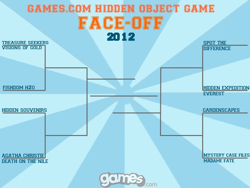 Games.com Hidden Object Game Face-off
