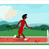 Google honors 2012 Olympics with hurdle game Google Doodle