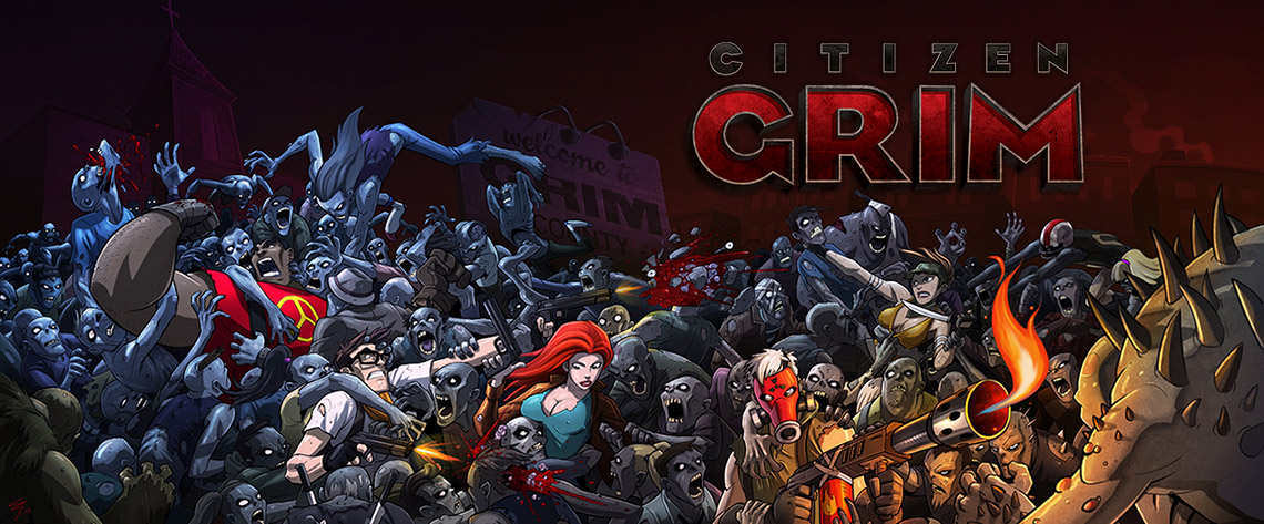 Citizen GRIM screens