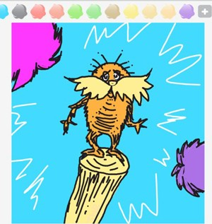 The Lorax Draw Something