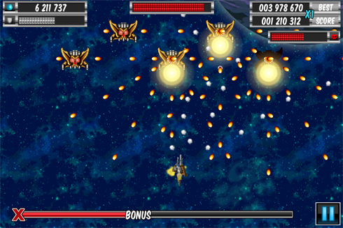 A Space Shooter Blitz screen shots
