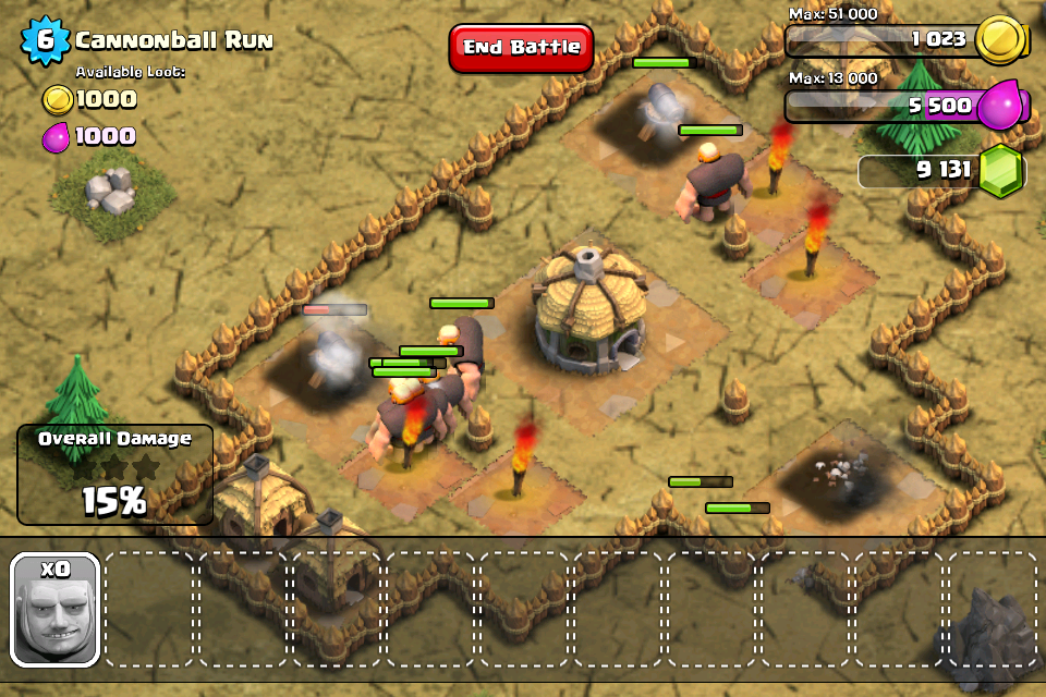 Clash of Clans offers simplistic, satisfying strategy on iOS