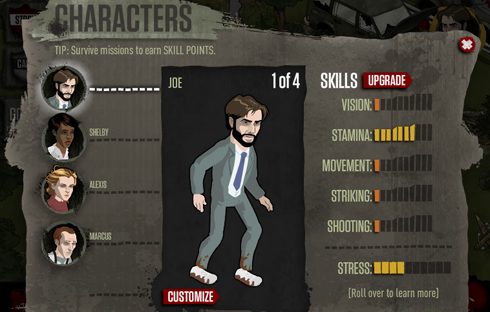 The Walking Dead cheats and tips