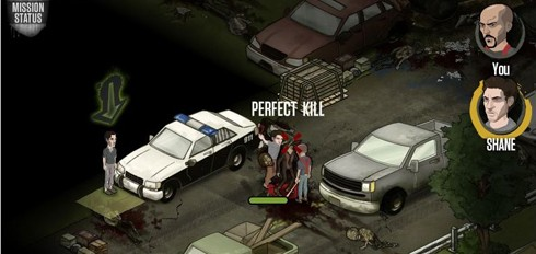 The Walking Dead Facebook game