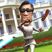VOTE!!! The Game is Infinity Blade, but with Obama vs. Romney on iOS