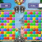 Tiki Blocks offers competitive match-three play on Facebook
