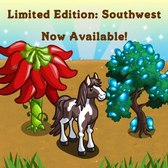 FarmVille Southwest Items: Nopal Cactus Hare, Idaho Locust Tree and more