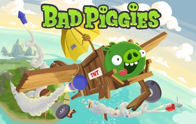 Bad Piggies screens