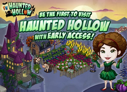 FarmVille Haunted Hollow screens