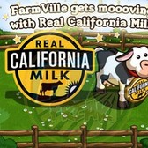 FarmVille to pimp Real California Milk in