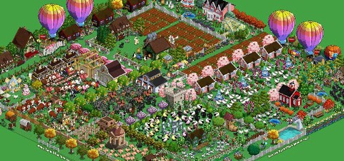 FarmVille screens