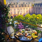 Hidden Chronicles Paris Balcony: O