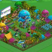 FarmVille: Visit the Serve farm for a free prize... again