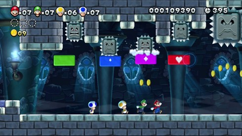 New Super Mario Bros. U screen shots