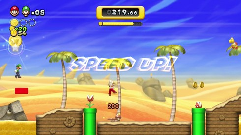 New Super Mario Bros U screens