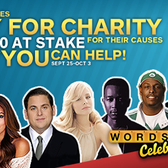 Play Words With Friends for Snoop Lion, Jonah Hill et al (and charity)