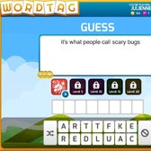 WordTag: Guess words with friends 120 characters at a time