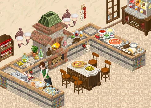 The Sims Social Italian Holidays quest