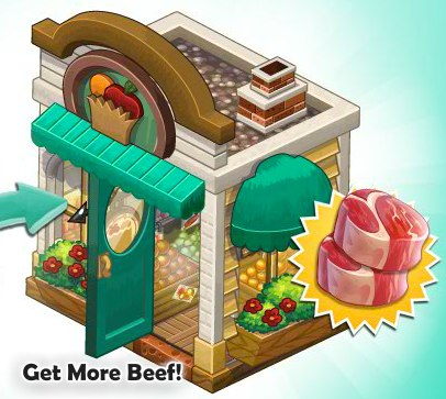 ChefVille Mom 'n Pop Shop Upgrade