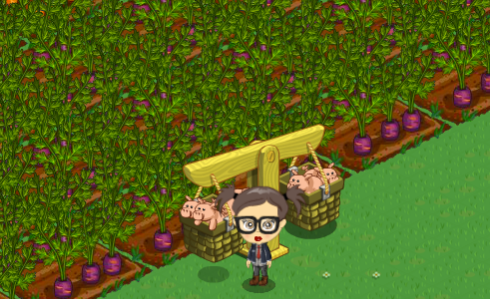 FarmVille Prize Pigs
