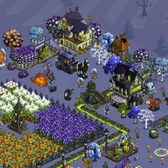 FarmVille Terrifying Town Items: Craggy Italian Tree, Rocker Goat and more