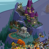 FarmVille Vintage Halloween Items: Paper Bag Tree, Caged Raven and more