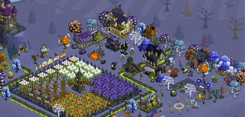 FarmVille halloween expansion