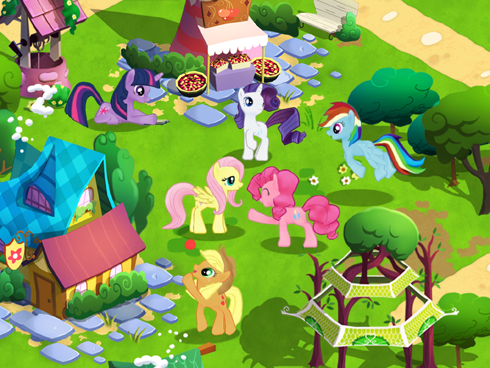 My Little Pony iOS game