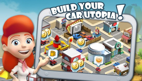Car Town Streets screens