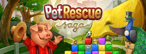 Pet Rescue Saga Facebook