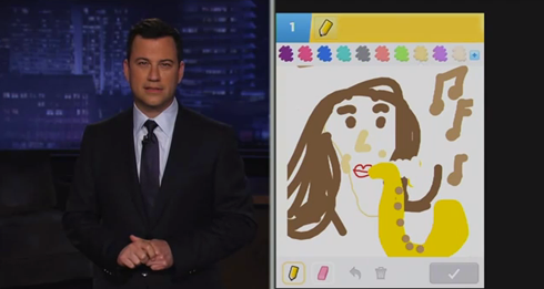 Jimmy Kimmel Draw Something