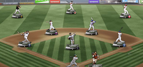 MLB Dream Nine on Facebook