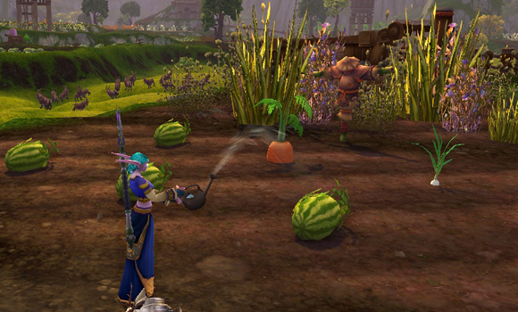 World of Warcraft farming