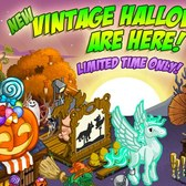 FarmVille Vintage Halloween Items: Bedazzled Tree, Lace Pegacorn and more
